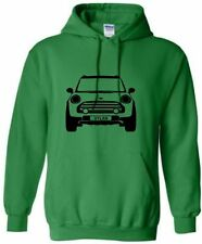 KIDS MINI PERSONALISED HOODIE MINI COOPER HOODY WITH NAME HOODED SWEAT AGE 5-15