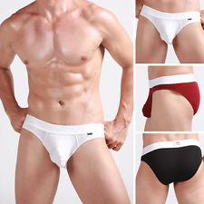 XUBA New Mens Sexy Enhace Pouch briefs Low rise underwear Sz XS S M L in 3Colors