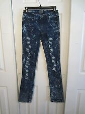 TRIPP INDIGO BLUE SUPER RIPPED SKINNY JEANS DIFFERENT SIZES TO CHOOSE FROM