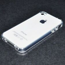 For iPhone 4 / 4s Ultra Thin Transparent Crystal Clear Hard TPU Case Cover