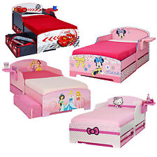 """Choose from Childrens Boys Girls Wooden Toddler Bed Kids Junior Beds """"BRAND NEW"""""""