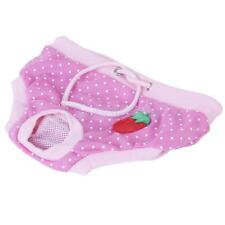 Pink Cute Dots Sanitary Pant Panty Diaper Brief for Female Pet Dog Puppy 4 Size