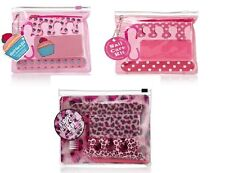 Cupcake, spotty or furry pink leopard manicure pedicure nail care kit