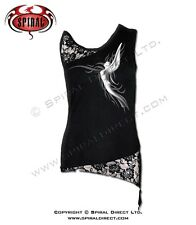 Spiral Direct Girly TopGothic Heavy Metal Punk Gothic fairy ANGEL SLANT TR191282