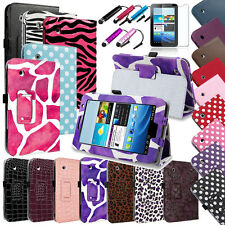 "Stand Leather Case Cover for Samsung Galaxy Tab 2 7.0 7"" Tablet Protector/Stylus"