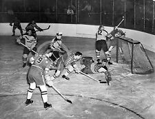 1947 PENNSYLVANIA & WASHINGTON ICE HOCKEY PHOTO Largest Sizes
