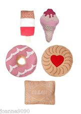 HANDCRAFTED ICE CREAM LOLLY BISCUIT CUSHION & INNER RETRO PARTY FOOD HOME GIFT