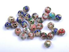 Mixed CLOISONNE Carve Flower & Charms & Spacer BEADS - Choose 6MM 8MM 10MM