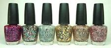 OPI Nail Polish Lacquer Spotlight on Glitter Collection VARIETY 2014 G35 to G40
