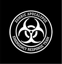ZOMBIE APOCALYPSE RESPONSE TEAM Vinyl Decal Car Window Bumper Sticker