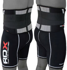 RDX Lower Back Support Belt Brace Pain Relif Gym Training Weight Lifting up CA