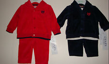 """INFANT BOYS/GIRLS 2PC """"CHAPS"""" CHRISTMAS/ HOLIDAY SET  SIZES NB- 9 MONTHS"""