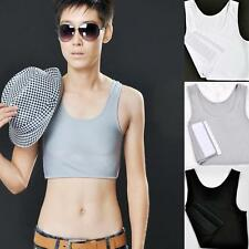 Fashionable Breathable Buckle Short Chest Breast Binder Trans Lesbian Tomboy