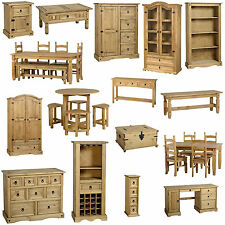 *NEW* Corona Sold Pine Furniture Dining Room Bedroom Living Room FREE DELIVERY!