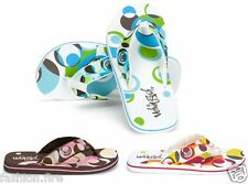 New Girls Branded Urban Beach Circles Flip Flops Summer Slippers Girls Flip Flop