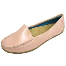 Pink Pearl Slip-On Loafers Women Comfort Casual Moccasin Shoes Sizes US 5-9