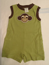 GYMBOREE Baby Boys Size 0-3 6 12 Month Green Monkey Outfit Choice NWT