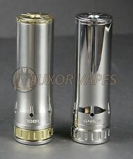 Hades Clone 26650 Mechanical MOD Brushed Stainless, brass 2 tone By Tobeco