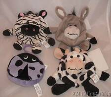 Cute Animal Purses.Quality Strong Hook/Zip.Cow,Donkey,Zebra,Ladybird.Childrens