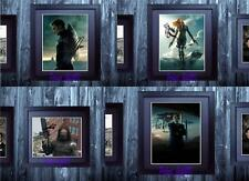 Captain America Winter Soldier 1-4 SIGNED AUTOGRAPHED FRAMED 10x8 REPRO PHOTO