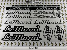 "16 Set LEMOND Decals Stickers Frames Bicycles Bikes 11"" COLORS Available A55S"