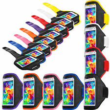 For Samsung Galaxy S5 SV Gym Sport Running Armband Arm Band Case Pouch Cover