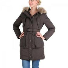 BLAUER USA Damen Winter Daunenparka Brown BLD0439