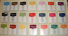 Stampin Up CLASSIC INK PADS - You Pick Color - Retired & Current Colors - Felt
