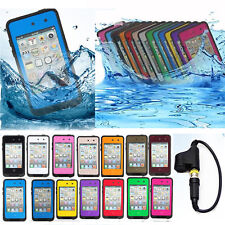 New Waterproof Shockproof Dirt Snow Proof PC Case For Apple iPod Touch 4G Gen4