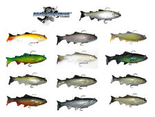 "REACTION STRIKE BASS HARASSER SWIMBAIT SLOW FALL 8"" (20 CM) various colors"
