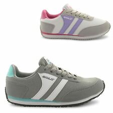 NEW LADIES GOLA CASUAL LACE UP GYM LEISURE SPORTY RUNNING TRAINERS SIZE UK 3-8