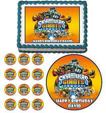SKYLANDERS GIANTS Edible Cake Topper Cupcake Image Decoration
