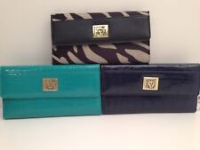 ANNE KLEIN Women's Wallet w/ Checkbook Cover Clutch ~Various Color & Design *New
