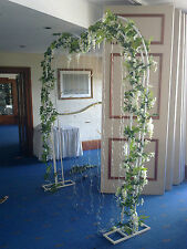 GARLAND FLOWERS  ARTIFICIAL Wisteria-Rose-Lily  / WEDDING DECORATIONS/HOME DECO