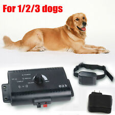 Pet Dog training Collar In-ground Electric Pet Fencing System for 1/2/3 Dogs