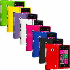 For Nokia Lumia 521 Snap-On Hard Rubberized Matte Case Cover Accessory