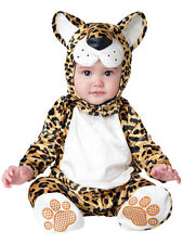 Child Infant Leopard Outfit Fancy Dress Costume Animal Cat Kids Boys Girls