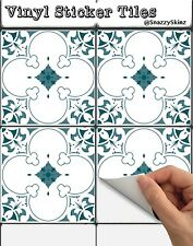 Tile Sticker Decorative Vinyl for Kitchen or Bathroom 6 Stickers: Portugese T173