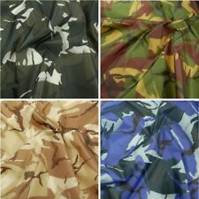 Army Military Camouflage Polyester Ripstop Fabric