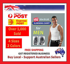 MEN MEN'S SLIMMING BODY SLIM N LIFT AND BELLY SHAPER UNDERWEAR COMPRESSION