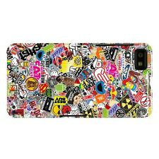 Sticker Bomb A Colourful Protective Hard Back phone case / skins Blackberry Z10