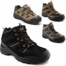 New Mens Hiking Walking Trekking Lace Up Trail Trainers Ankle Boots UK Size 7-12