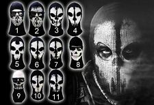 4012 Call of Duty 10 COD Cosplay Balaclava Ghost Skull Face Mask Skateboard Hood