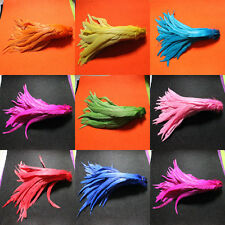 "Wholesale! 20-100pcs beautiful badger saddle rooster feathers ""12-14 inch"