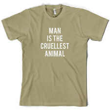 Man Is The Cruellest Animal - Mens T-Shirt - Human Nature - TV - 10 Colours