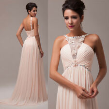 Elegant Women Evening Prom Party Ball Gown Bridesmaid Wedding Long Pageant Dress