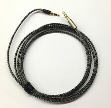 New Silver Plated Audio upgrade Cable For B&W Bowers & Wilkins P5 Headphones