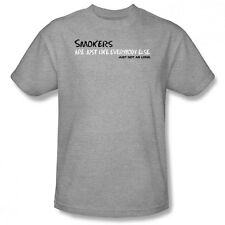 New Smokers Are Just Like Everybody Else, Just Not As Long. Joke Men T-shirt Top