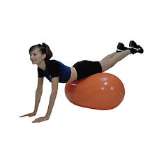 Cando Inflatable Straight Roll Support Up to 300 lbs 40cm x 90cm