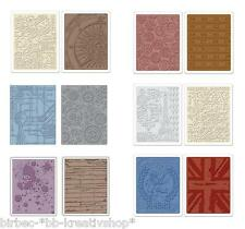 2 Prägeschablone SIZZIX Embossing Folder TIM HOLTZ Big Shot VERSCHIEDENES 56